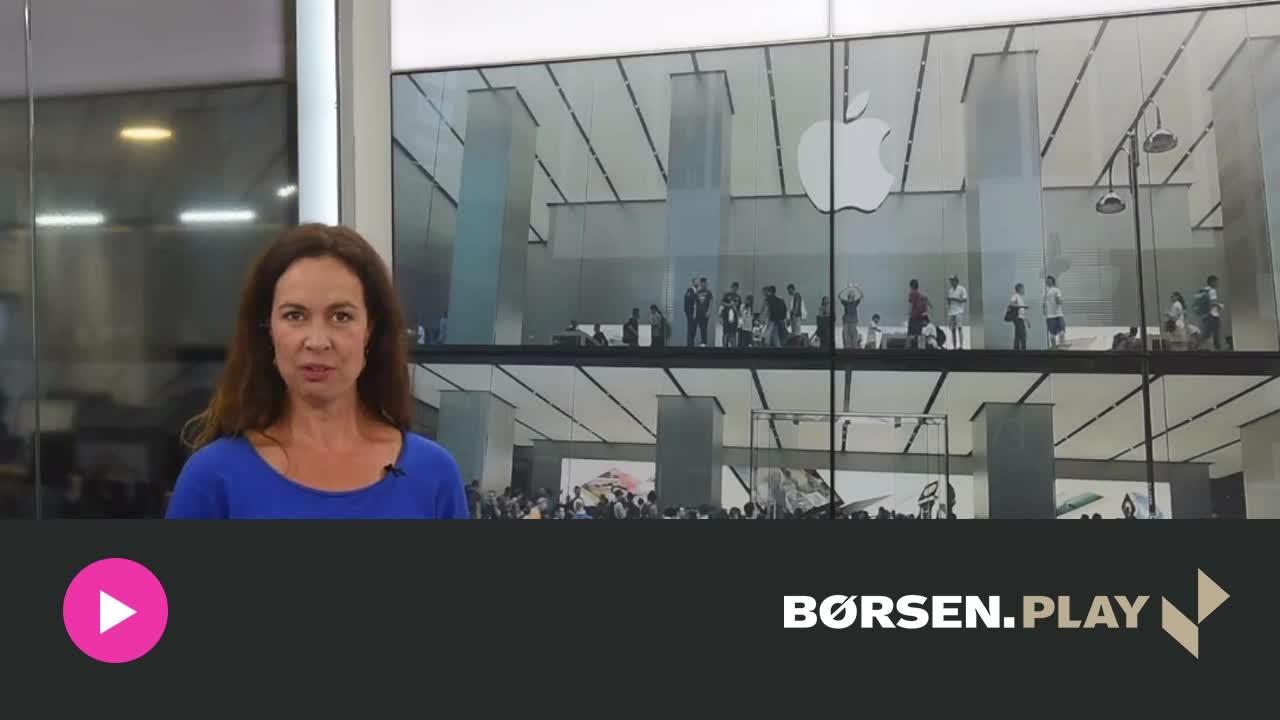 Aktier: Apple, Boeing og olie tr�kker Wall Street i r�dt