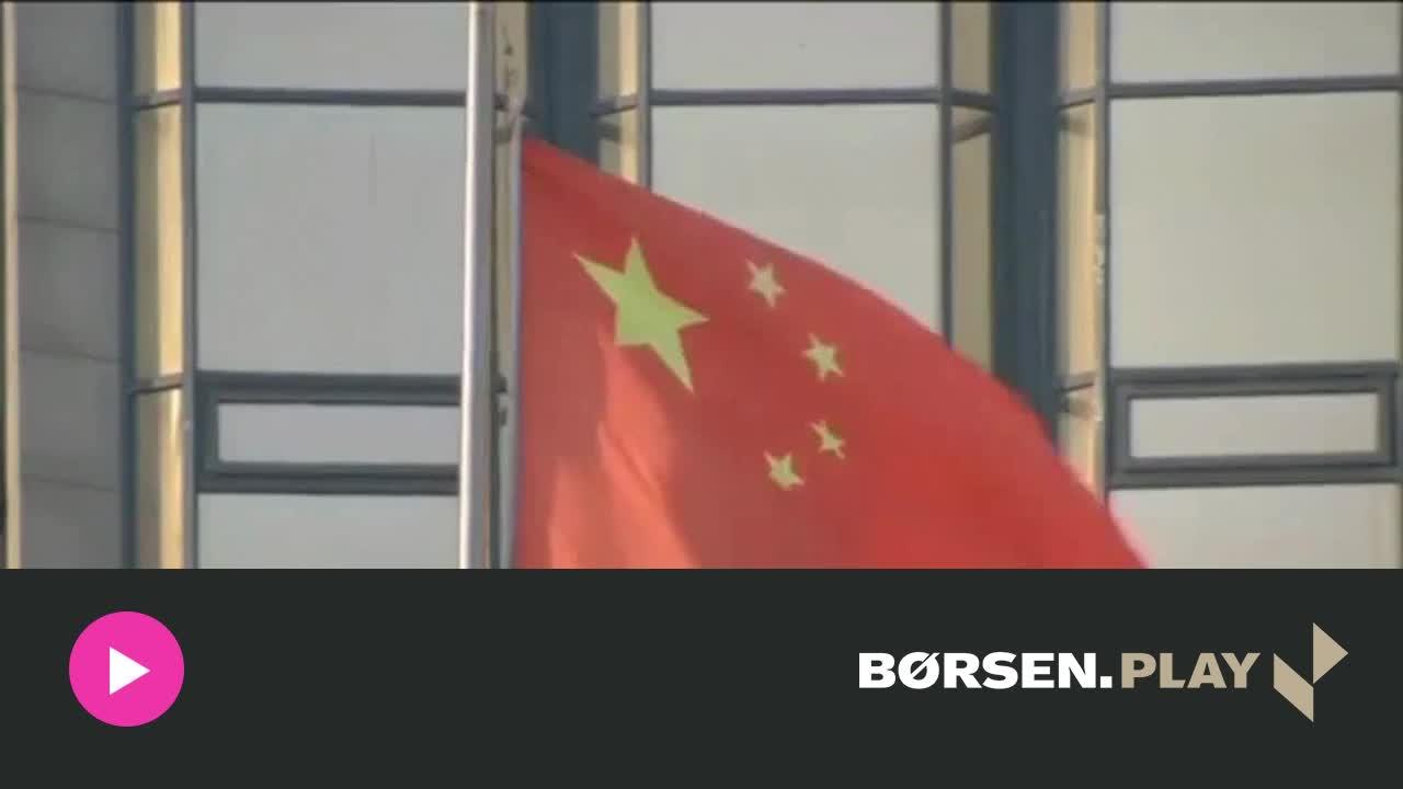 Frygt for kinesisk devaluering skaber k�mpe turbulens i markedet