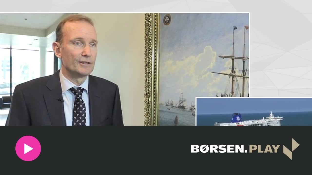 Topchef DFDS: Jeg er superglad for min gevinst p� 50 mio. kr.