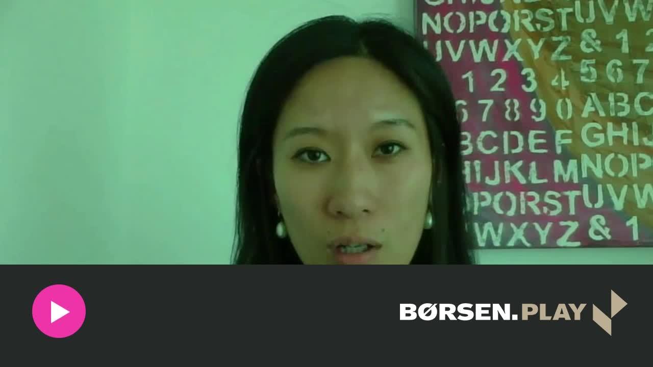 Amy Zhuang: Kinesisk uro kan hurtigt vende tilbage