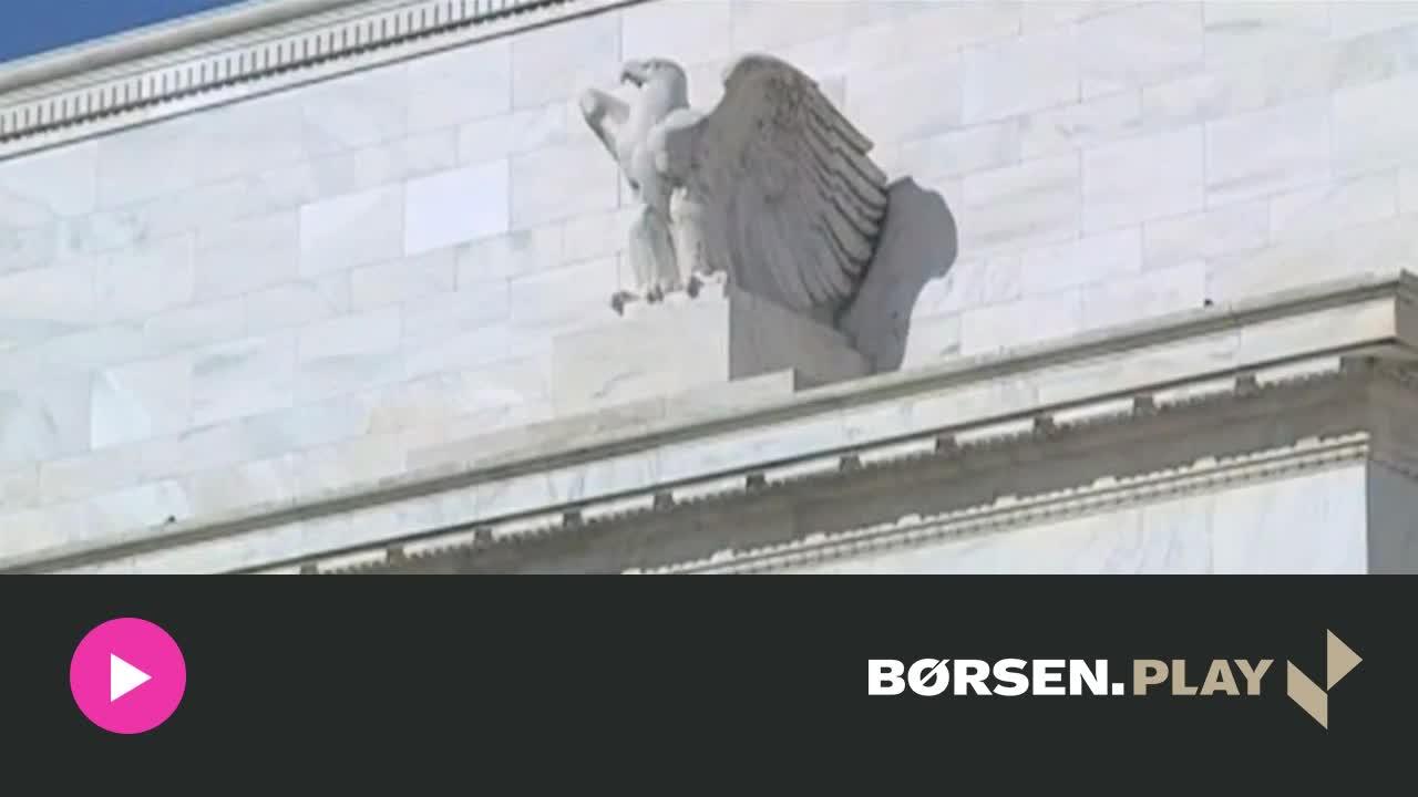 Alm. Brand: Derfor kan Fed ikke s�tte renten op onsdag