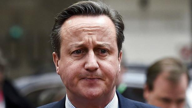 Cameron venter h�rde forhandlinger om britisk EU-fremtid