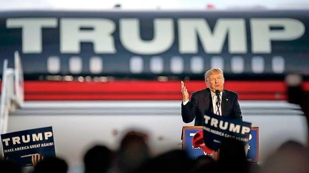 Trump kan kn�kke rivalerne i dag - og g�re klar til Clinton