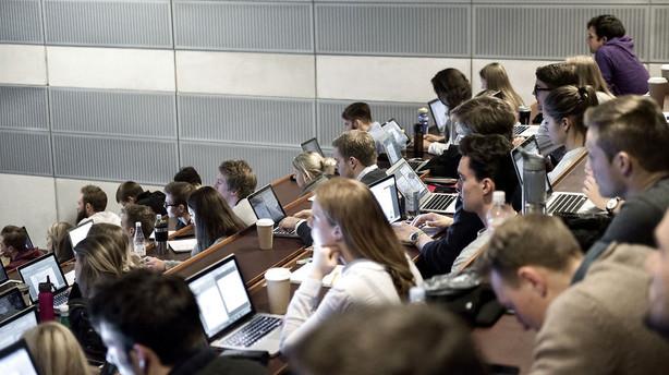 Studerende om v�kst i 12-taller: Vi er blevet dygtigere