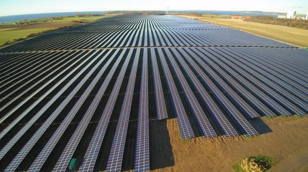 Danmark kan ogs�: Ny�bnet solcellepark forsyner 15.000 parcelhuse