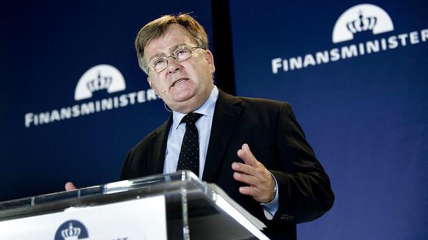 Claus Hjort: Lave oliepriser presser dansk �konomi