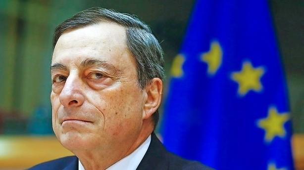 �konomer: Draghi vil s�nke renten og pumpe flere milliarder ud