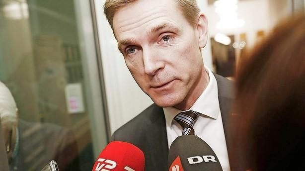 Thulesen kritiserer L�kkes iver efter EU-asyll�sning