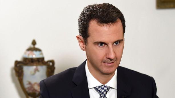 Assad udskriver valg efter aftaleudkast om v�benhvile