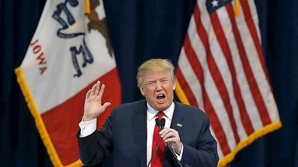 Det konservative USA er i opr�r over Trump