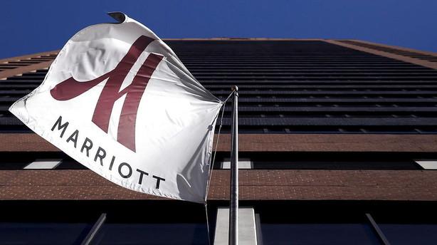 Marriott sl�r kinesisk bud p� kendt hotelk�de