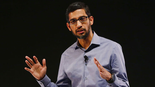 Google-topchef st�tter Tim Cook i FBI-strid