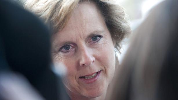 Connie Hedegaard: Regeringen b�r lytte til kritikerne