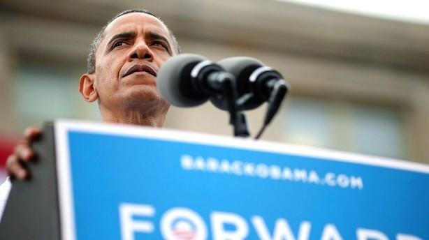 Efter partikonvent: Obama �ger til Romney