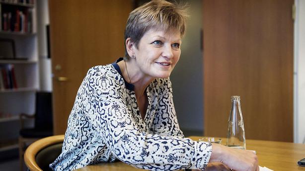 Milj�minister er m�ll�s over kritik om talgymnastik
