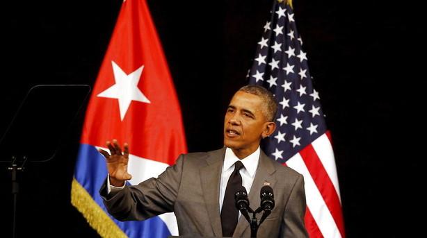 Obama fort�ller cubanerne de fortjener frie valg