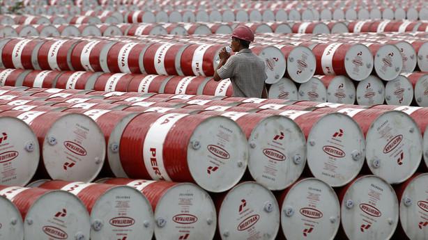 R�varer: Olierekyl trods fortsat stigende lagre