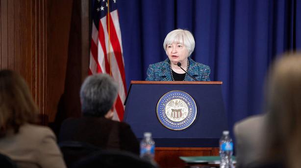 Troen p� amerikanske renteforh�jelser i �r fordamper