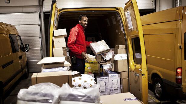 Det bliver dyrere for firmaer at sende pakkepost