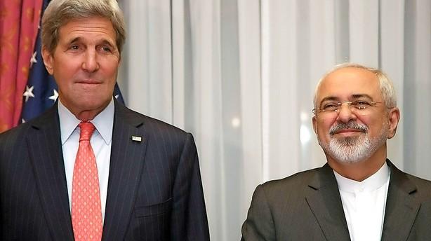 EU og USA m�des med Iran for at sikre atom-fremskridt