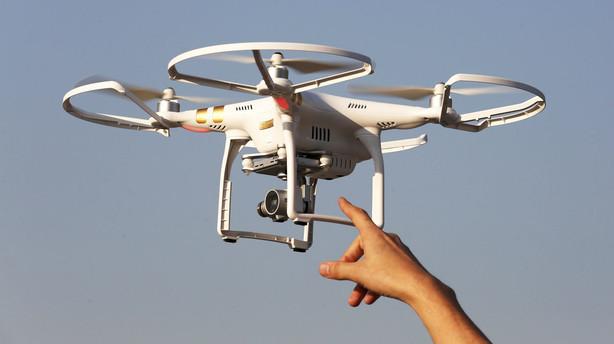 �rne skal fange truende droner