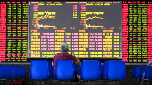 Aktier: Kilder melder om kinesisk intervention p� aktiemarkedet