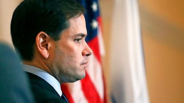 Trist Rubio p� vej mod exit: Trump lever af vrede