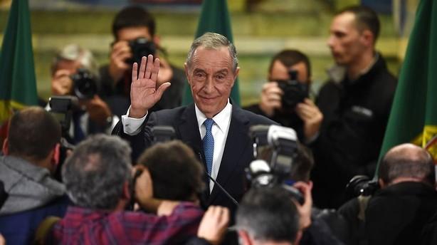 Portugal: Popul�r professor vinder pr�sidentvalg