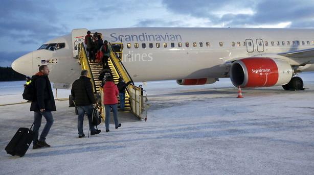 Flere tomme s�der i december sender SAS-aktien ned