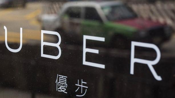 Uber taber 1 mia dollar om �ret i Kina