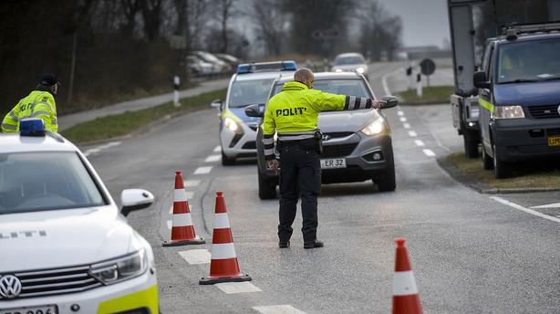 Tysk k�p i hjulet p� dansk gr�nsekontrol