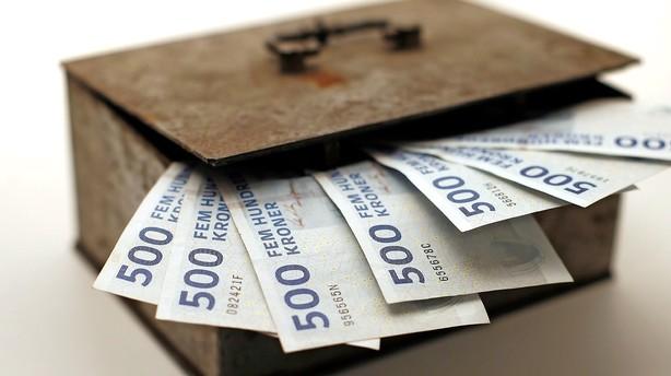 Jackpot i statskassen: Har tjent 121 milliarder p� pensionsfinte