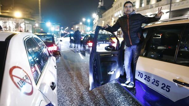 Uber betaler 189 mio. kr. for vildledende startgebyr
