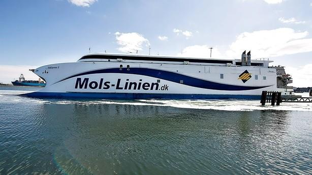 Mols-Liniens adm. direkt�r har sagt op - ny mand fra DFDS klar til at overtage
