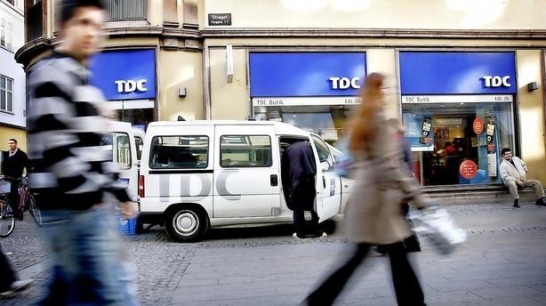 Oprydning i TDC - Telmore bliver opslugt