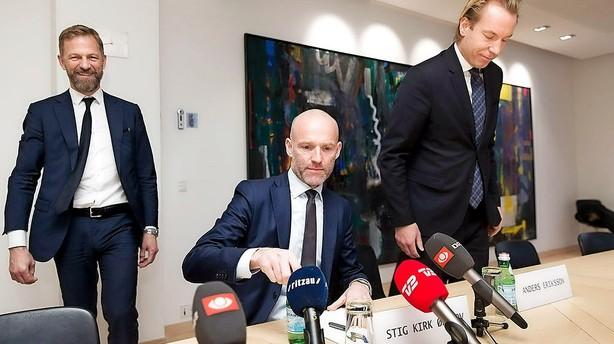 """""""Nu refererer vi til R�dhuspladsen i stedet for Stockholm"""""""