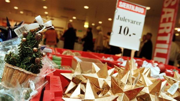 Danmark: Julesalget deler vandene hos �konomerne