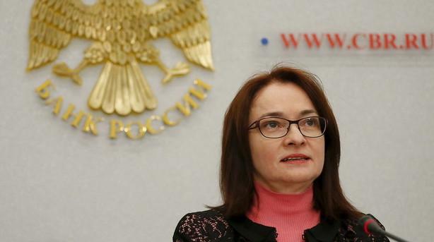 Bekymret russisk nationalbank m� stoppe rentes�nkning