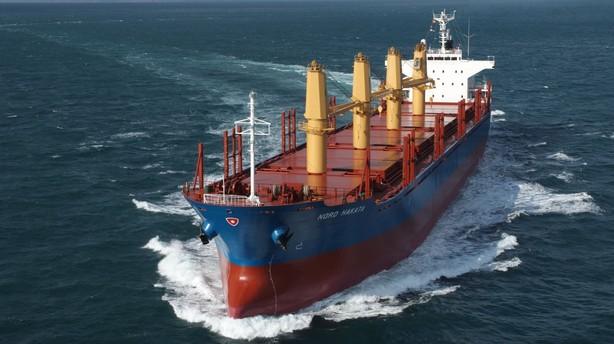 Lave fragtpriser g�r ondt p� rederiet Nordens regnskab