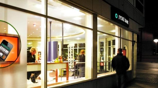 Dyrere at låne i jyske bank efter bank krak og gældskrise