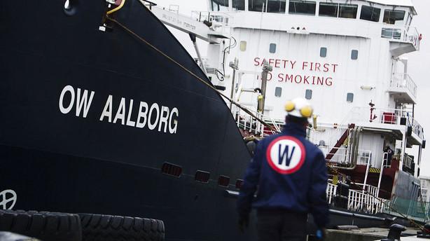 Belgisk olieselskab tr�kkes ned af OW konkursen