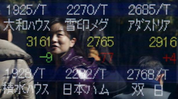 Aktier: Japan tr�kker op efter mandagens helligdag