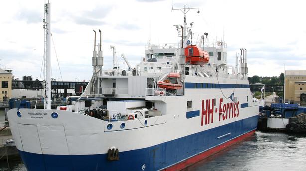 HH Ferries vil have kompensation fra Sverige for id-kontrol