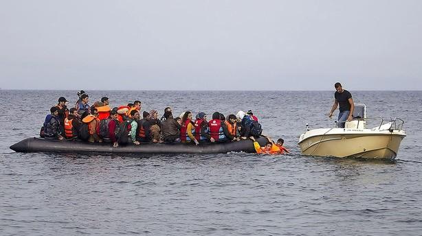 62.000 flygtninge ankom til Gr�kenland i januar