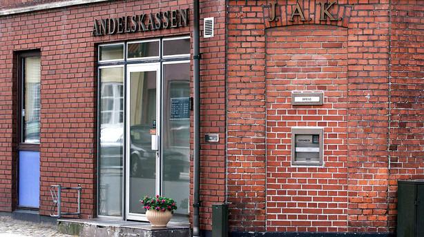 Nordmand k�ber den krakkede bank Andelskassen J.A.K.