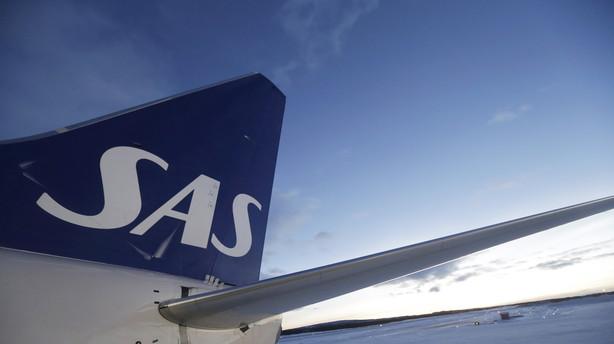 SAS-fly sikkerhedslander i G�teborg efter bombetrussel