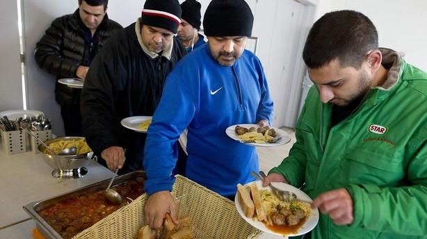 Fald i asyltal er fortsat hen over weekenden