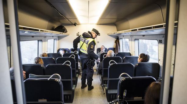 Sverige forl�nger gr�nsekontrol til 8. februar