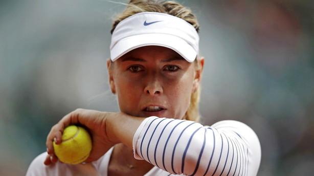 Nike afbryder samarbejdet med Sharapova under dopingsag