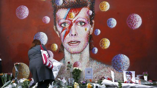 Rockmuseum om Bowie: Et vigtigt kapitel i rockens historie